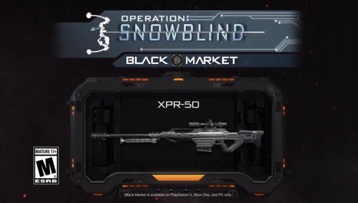 CoD:BO3:新武器「XPR-50」追加、新アニメーション迷彩も登場