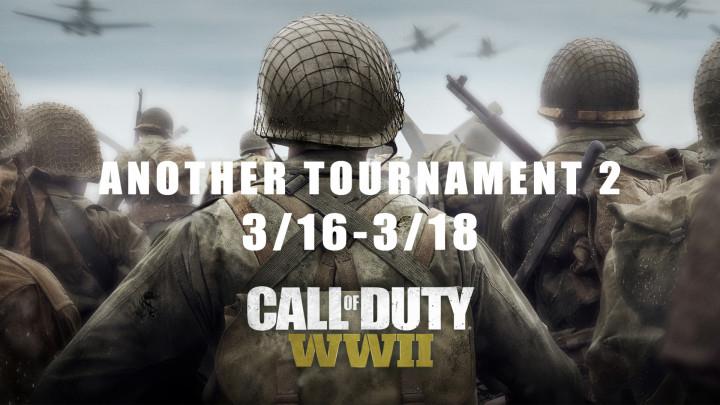CoD:WWII: プロへの登竜門?PS4版大会「Another Tournament #2」が3月16日から開催