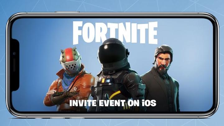 フォートナイト: iOS版の先行招待イベント開始、フレンドも招待可能