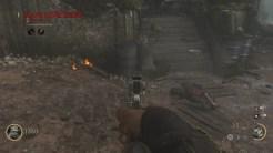 高台の対空砲