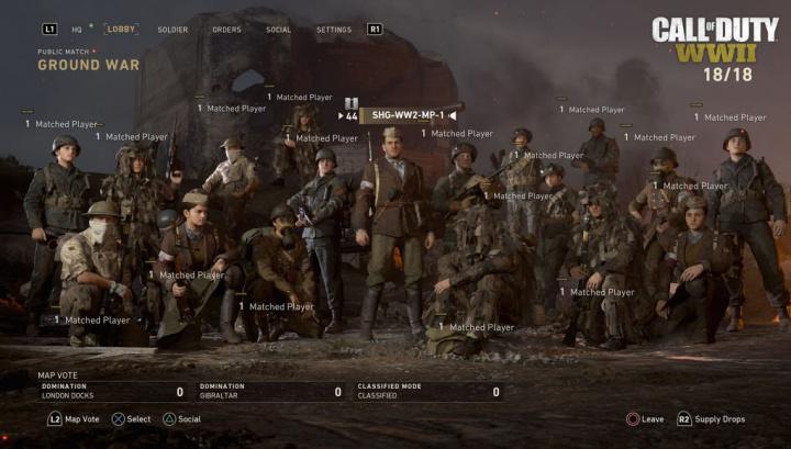 CoD:WWII: 18人対戦の「グラウ...