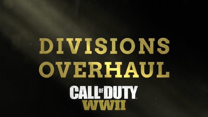 CoD:WWII:ゲームが生まれ変わる「師団オーバーホール」発表、師団トレーニング変更や無限スプリント、ランチャーがトレーニングなしで装備可能など