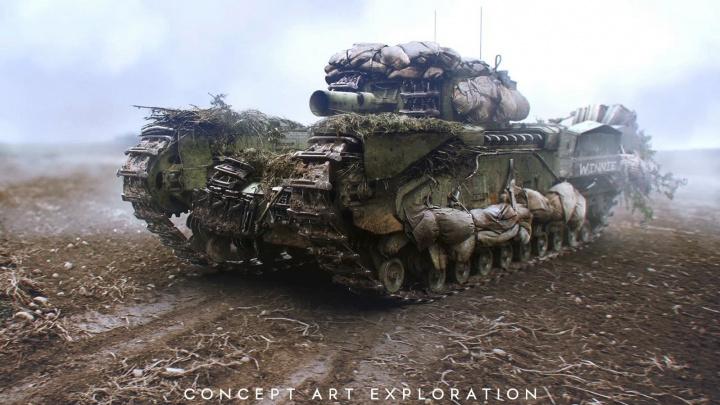 BFV:第二次世界大戦の壮大な世界を描き出す美麗コンセプトアート(25枚)