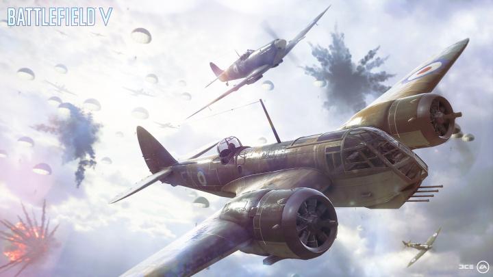 BFV:新モード「Airborne(エアボーン)」はパラシュートで落下し拠点の破壊と防衛を競うモード