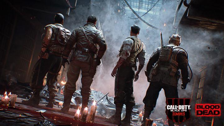 """CoD:BO4:Mob of the Deadのリマスターマップ「Blood of The Dead」発表、""""Primis""""の4人が再登場!"""