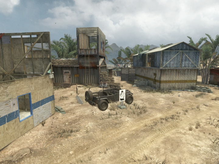 『CoD:BO』よりFiring Range