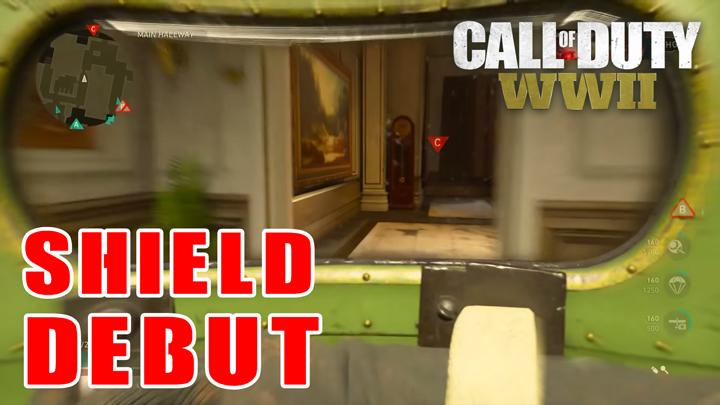 CoD:WWII:ライオットシールド所持の新師団「騎兵」デビュー、プレイ映像公開