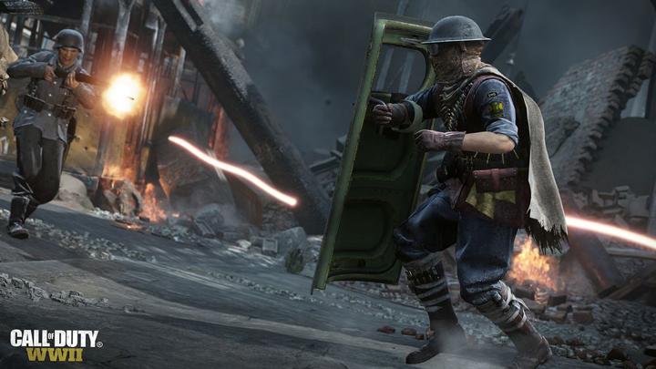 CoD:WWII:DLC3でライオットシールド