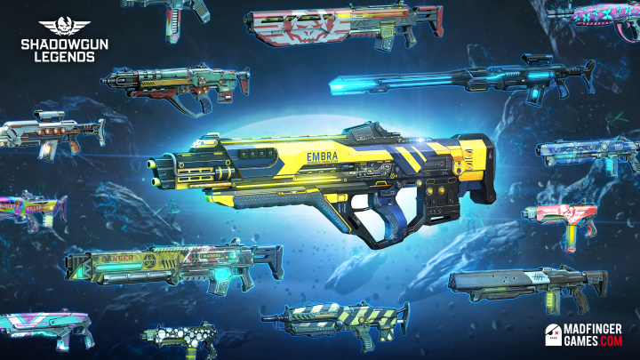 SHADOWGUN LEGENDS.02_New Weapons