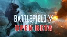 [速報] BF5:『バトルフィールドV』オープンベータを9月6日から開催