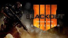 CoD:BO4:バトロワモード「ブラックアウト」のベータを9月にPS4で先行開催