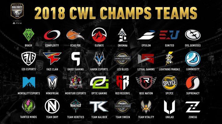 CoDWWII:シーズン最後の「CWL Championship」32チームと全グループ発表、8月15日より開催