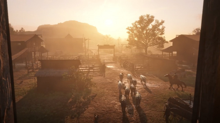 Red Dead Redemption2 レッド・デッド・リデンプション2 牧場地帯