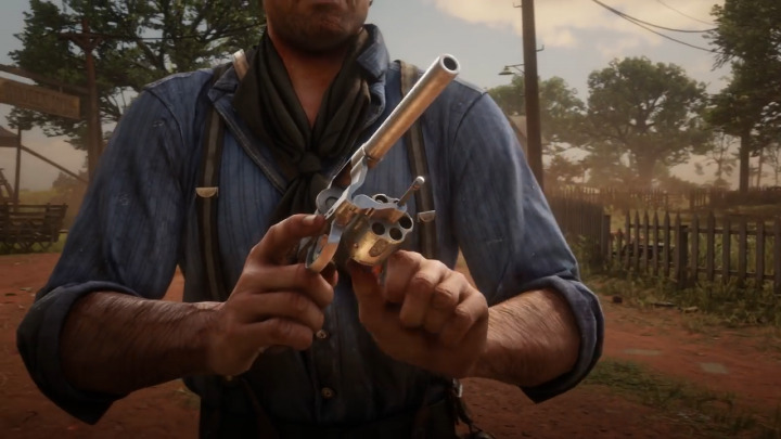 Red Dead Redemption2 レッド・デッド・リデンプション2 リボルバー