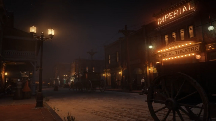 Red Dead Redemption2 レッド・デッド・リデンプション2 先進的な街