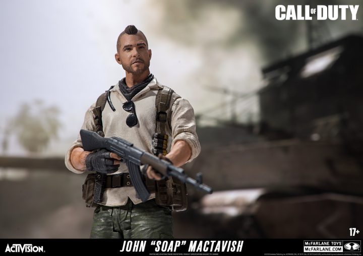 Call of Duty シリーズ新フィギュア公開、Ruin、Seraph、ソープ、ゴーストなど