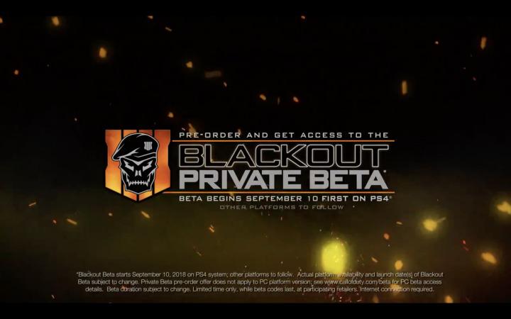 CoD:BO4:バトロワ「ブラックアウト」ベータは9月15日開催(Xbox One/PC)