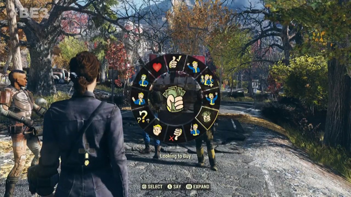Fallout 76 エモーション