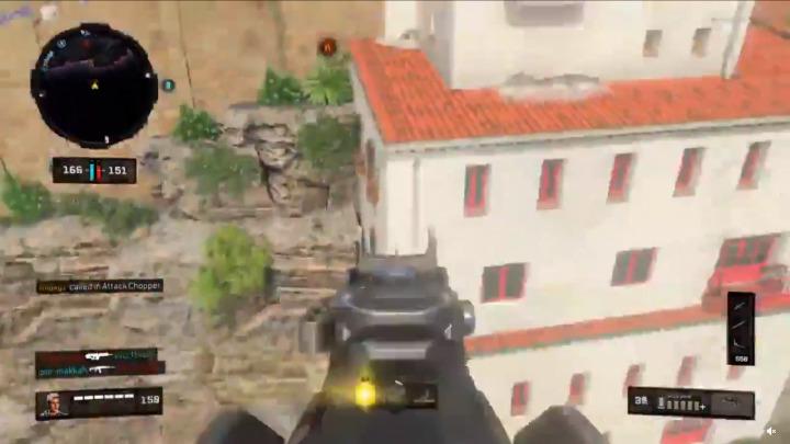 CoD:BO4:敵が遥か彼方に吹き飛ぶおもしろバグ
