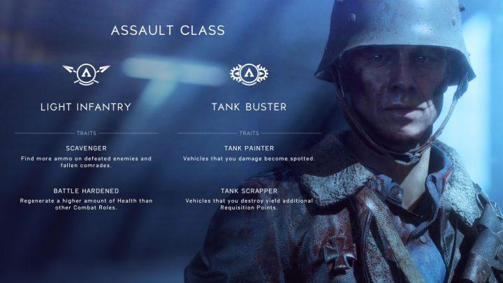 BF5:4兵科のクラスとコンバットロール