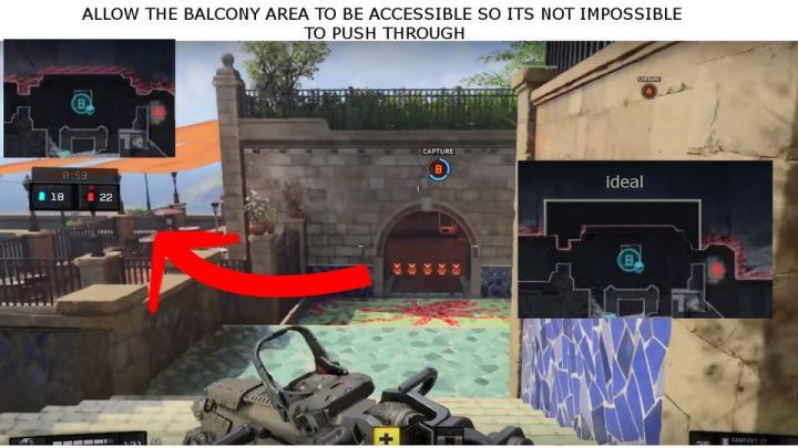 """CoD:BO4:マルチプレイヤーマップ""""Seaside""""のB地点を改善か"""