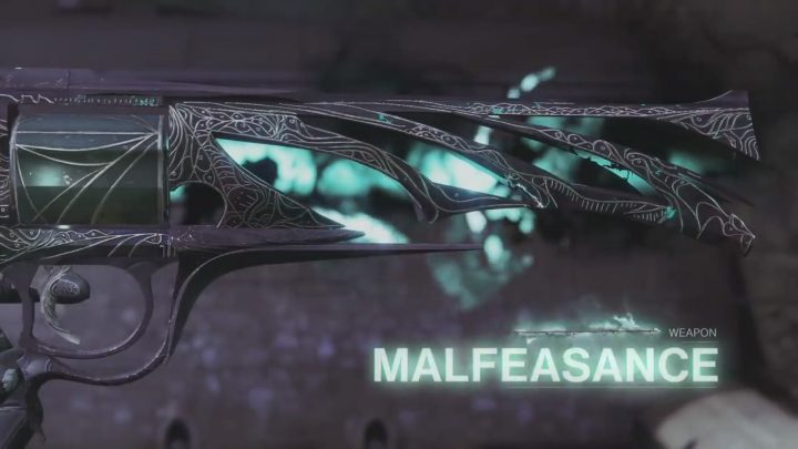 Destiny 2: エキゾチックハンドキャノン「マリフィセンス」のクエストが解禁、入手までの手順ガイド
