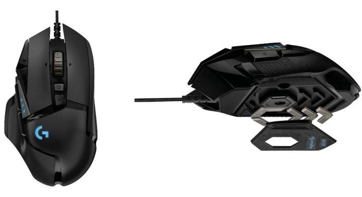 Logicool、eスポーツ向けゲーミングマウス「G502 HERO」を10月18日発売、11のボタンと5個のウエイト搭載