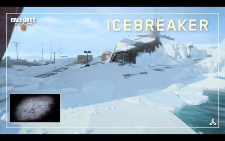 CoD:BO4:新マップ「Icebreaker(アイスブレーカー)」のショート映像公開、北極の原子力潜水艦が舞台