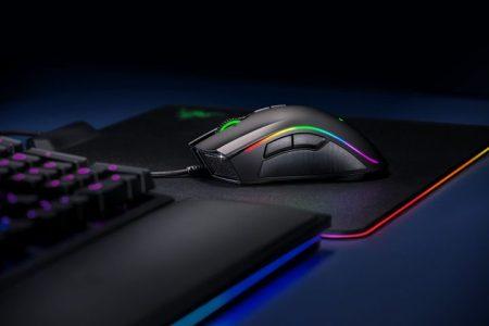 Razer、16,000DPI/450IPS対応の有線ゲーミングマウス「Mamba Elite」国内発売、光るマウスパッドも