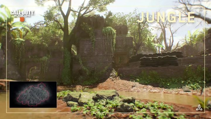 CoD:BO4:リマスターマップ「Jungle(ジャングル)」のショート映像公開、ベトナムが舞台の広範マップ