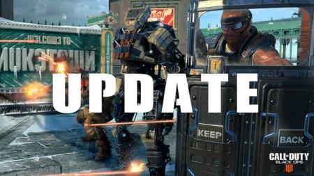 CoD:BO4:アップデート配信、新ゲームモートや新マップ、キャラクターミッション追加など