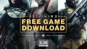 Destiny 2:「無料ダウンロード」開始