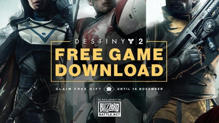 Destiny 2:PC版本編の「無料ダウンロード」開始! 11月19日まで *追記: スマホだけでもDL可能
