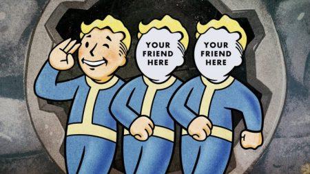 Fallout 76: 11月2日までにB.E.T.A.に参加したプレイヤーはフレンド3人をB.E.T.A.に招待可能に