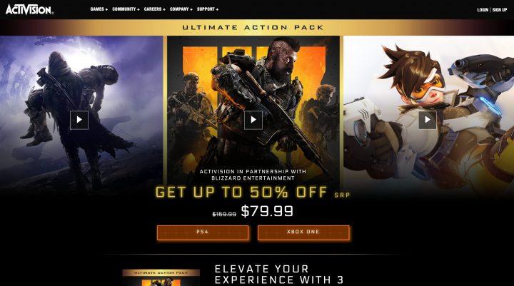 "『CoD:BO4』×『Destiny 2』×『オーバーウォッチ』のセット""Ultimate Action Pack""が激安価格で登場(海外)"