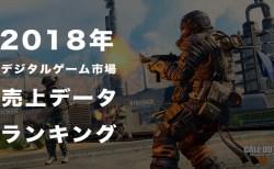 2018年デジタルゲーム市場売上データ:『フォートナイト』が記録を打ち立て『CoD:BO4』も大暴れ