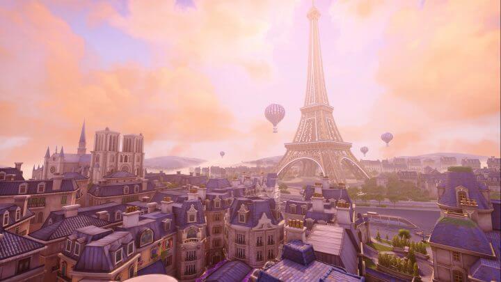 オーバーウォッチ:新アサルトマップ「Paris(パリ)」