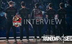 R6PL:R6インビテーショナル2019 Team Empire Karzheka選手インタビュー「世界一のチームになる」