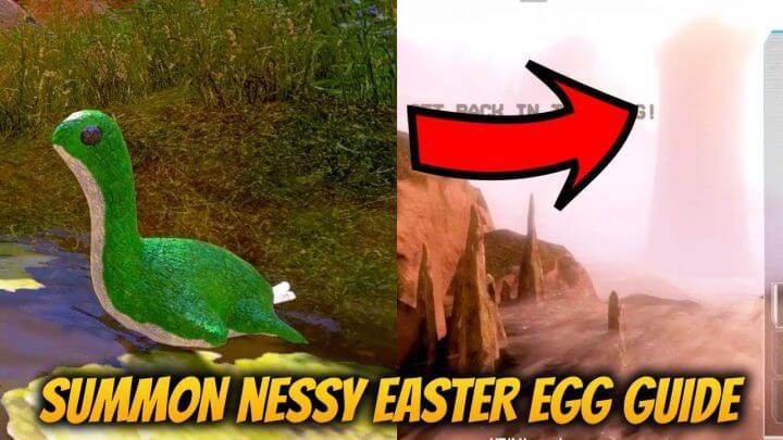 エーペックスレジェンズ:シリーズ恒例「ネッシー」のイースターエッグ発見、今回は巨大化して登場