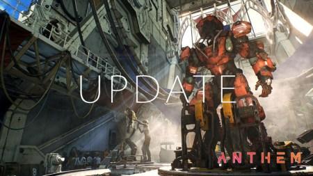アンセム : アップデート1.0.4は3月26日配信、2時間のメンテナンスを予定