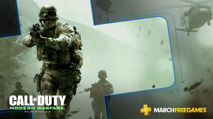 PS Plus:2019年3月の提供コンテンツ公開、『CoD:MWR』 や『地球防衛軍4.1』がフリープレイに登場