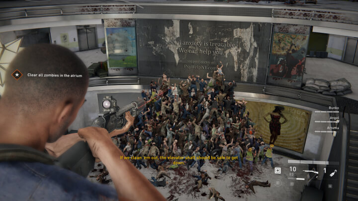 WWZ Zombie Mountain