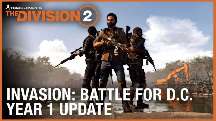 ディビジョン2:新トレーラー公開、8人レイド4月25日解禁、新エキゾチック武器やイベントが追加されるタイダル・ベイスンは本日配信など
