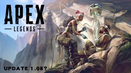 エーペックスレジェンズ:本日配信されたアップデート1.08でゲームがクラッシュする問題発生(PS4)