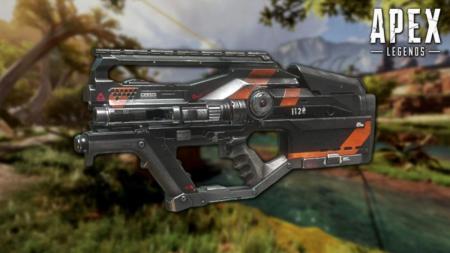 エーペックスレジェンズ:新武器「L-STAR」の外観とアニメーション