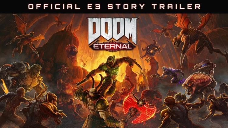 "DOOM最新作:『DOOM Eternal』の発売日が11月22日に決定、ストーリーと""マルチプレイモード""トレーラー公開"