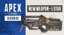 エーペックスレジェンズ:シーズン2武器アップデート内容公開、新型ホップアップ「ディスラプター弾」「ハンマーポイント弾」やL-スター含む新ゴールド武器など
