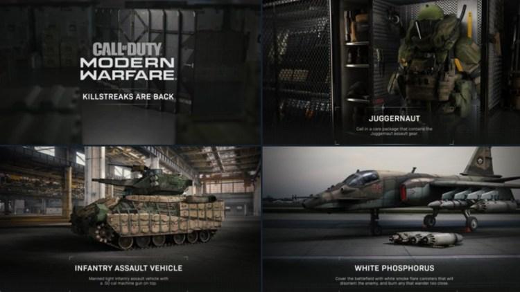 CoD:MW:マルチプレイヤーで「キルストリーク」が復活、ジャガーノートを含む3種が画像付きで公開