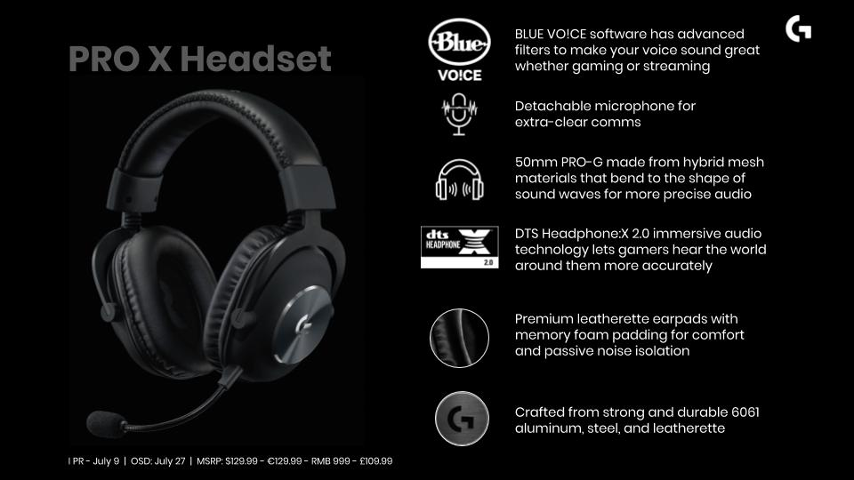 超進化した新型ゲーミングヘッドセット「Logitech PRO X ゲーミングヘッドセット」発売前レビュー:130億円のクリアなボイスチャット