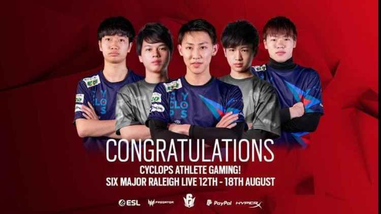 レインボーシックス シージ:日本のCYCLOPS athlete gaming、世界大会「Six Major ローリー」への出場決定